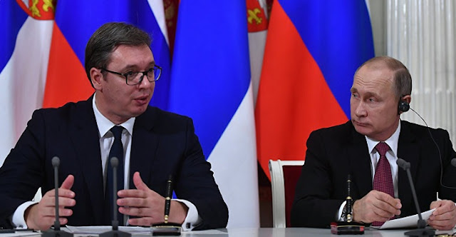 Vucic reports to Putin: We are far from resolving the issue of Kosovo