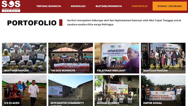 ACT Foundation Adakan Solidaritas Rohingya