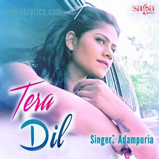 Tera Dil Lyrics - Adampuria
