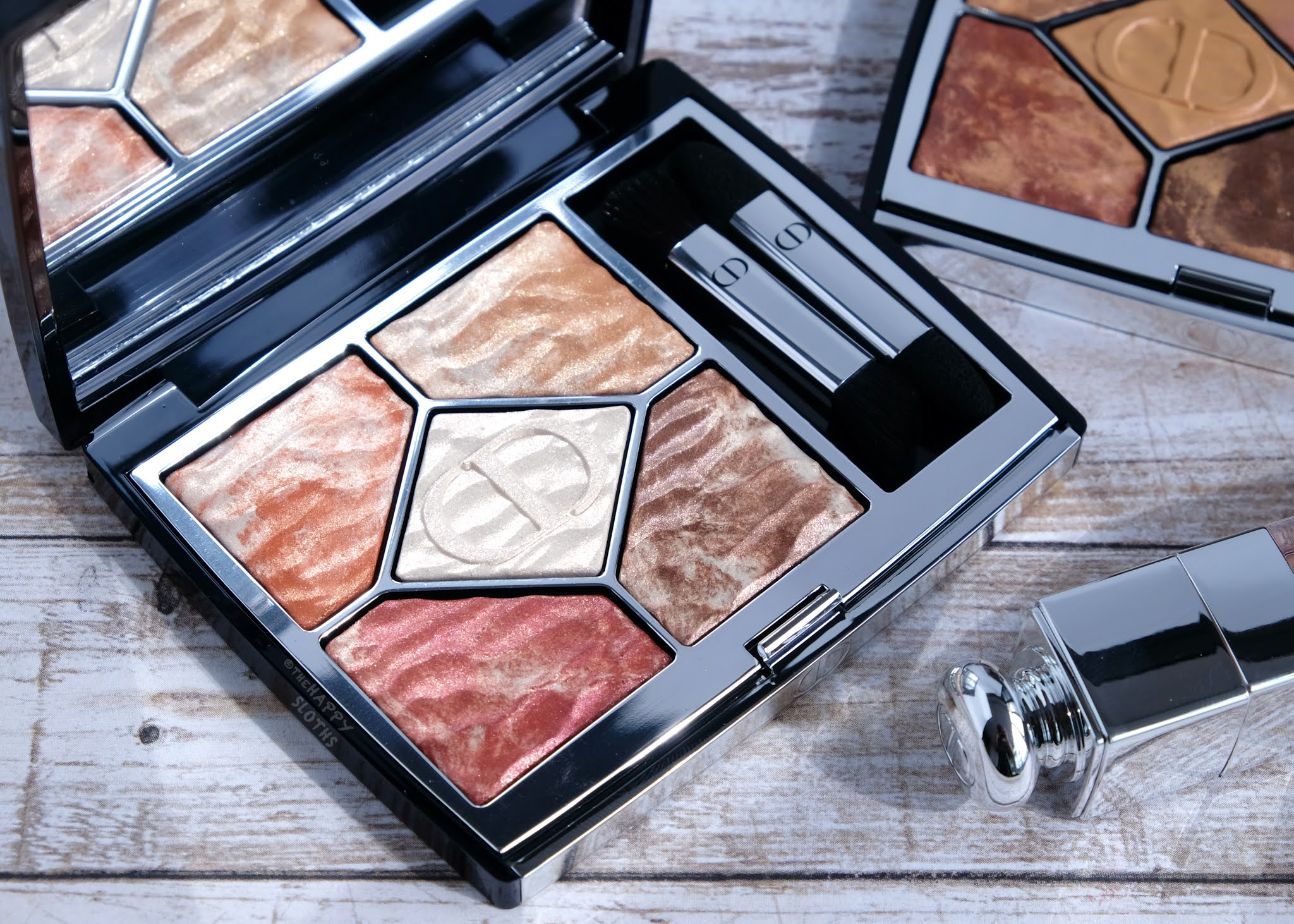"""Dior   Summer Dune 5 Couleurs Couture Eyeshadow Palette in """"759 Dune"""": Review and Swatches"""