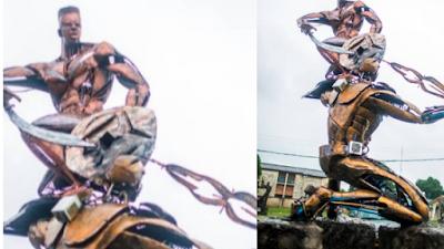 Missing Multi-Million Naira UNIBEN Artwork Found In Billionaire's Farm In Benin