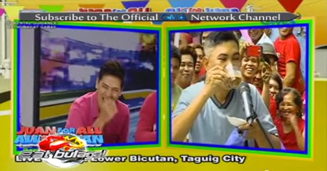 Eat Bulaga, Juan for all, All for Juan, Barangay Lower Bicutan, Taguig City