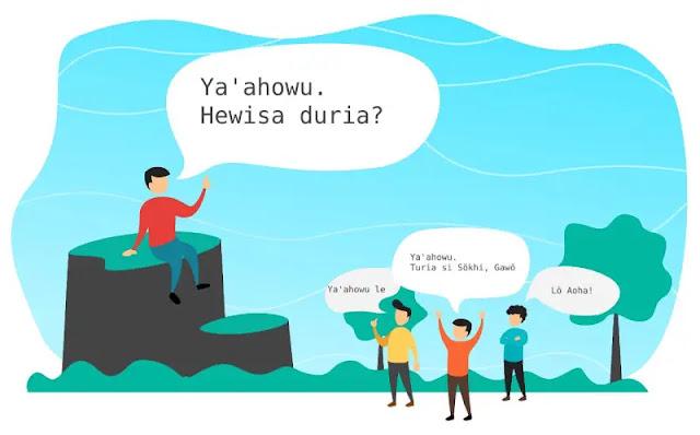 Bahasa Nias Language Li Niha