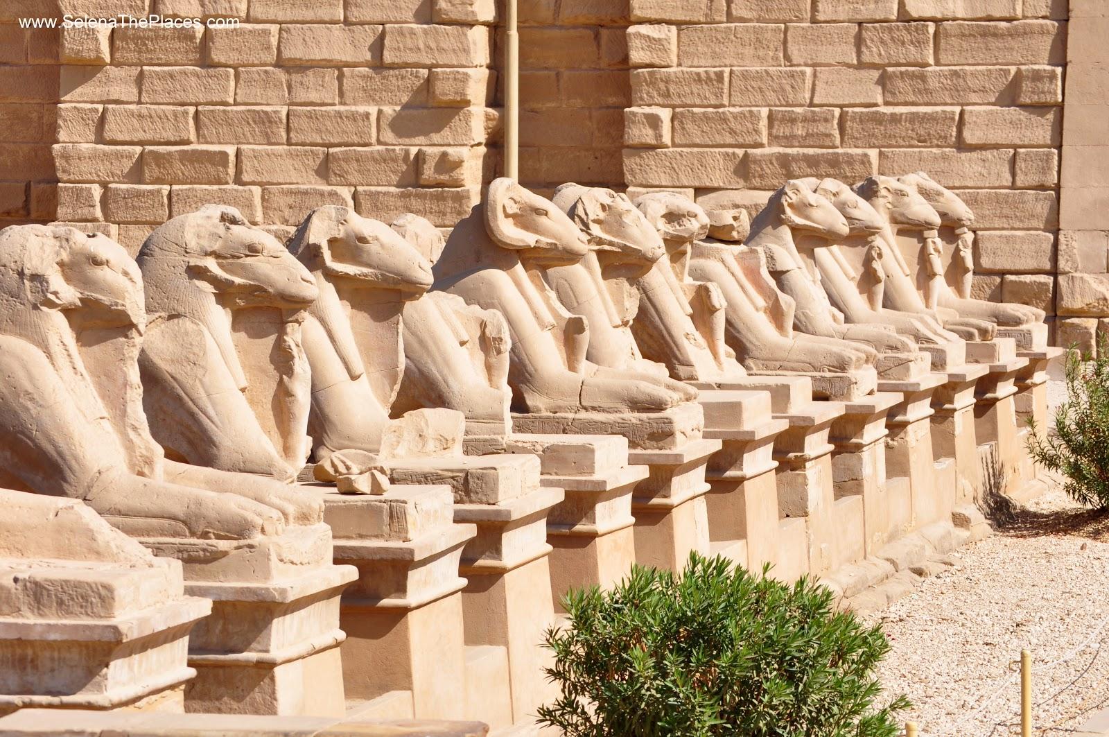 The Temple of Karnak in Luxor, Egypt