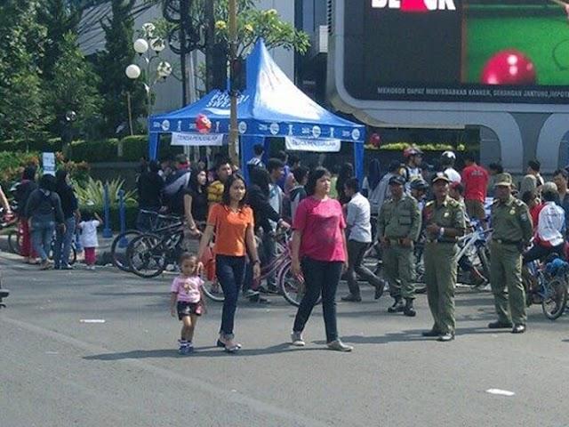 Pemkot Bandung Belum Mengizinkan Penyelenggaraan Car Free Day