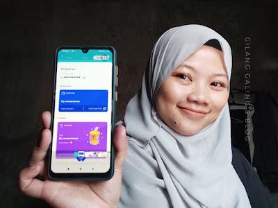 Fitur simpanan di aplikasi blu by BCA Digital yang memudahkan kamu dalam membuat anggaran tabungan