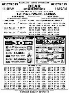 lottery sambad, lottery sambad today result, nagaland state lottery, sikkim state lottery, west bengal state lottery, nagaland lottery, today result