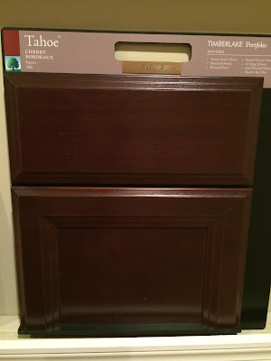 Cherry Bordeaux Cabinets