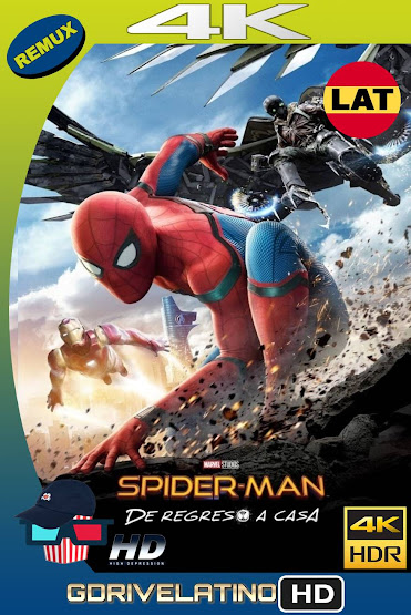 Spider-Man: De Regreso a Casa (2017) BDRemux 4K Latino-Ingles MKV