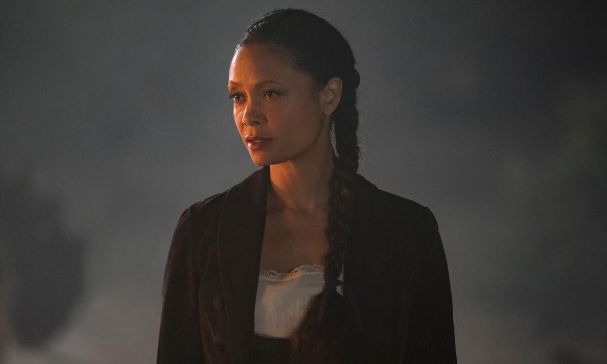 Fotografía de Maeve en el segundo episodio de la segunda temporada de Westworld