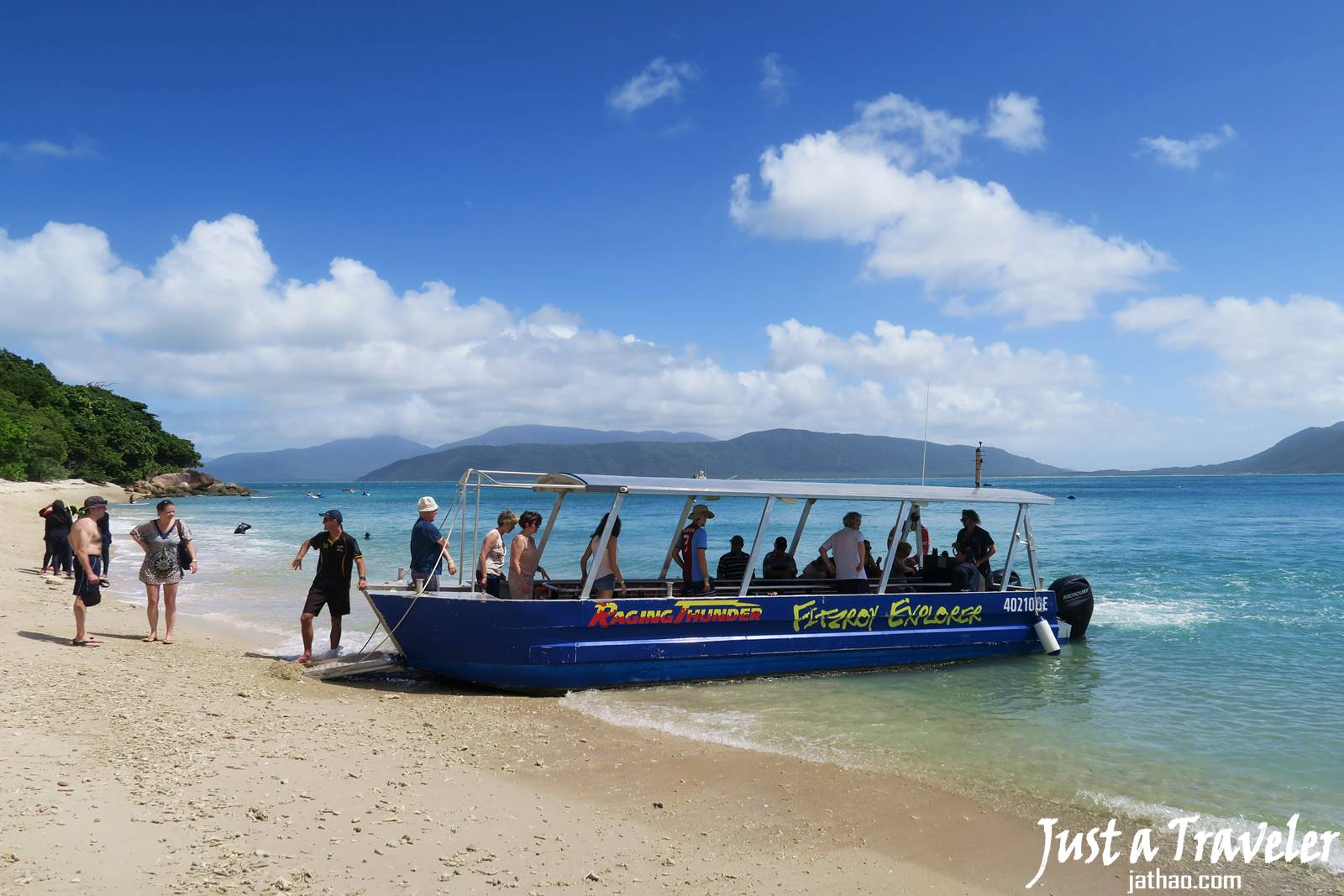 凱恩斯-大堡礁-綠島-翡翠島-內堡礁-交通-浮潛-潛水-景點-推薦-旅遊-自由行-澳洲-Carins-Great-Barrier-Reef-Green-Island-Fitzroy-Island-Snorkel-Diving-Travel-Australia