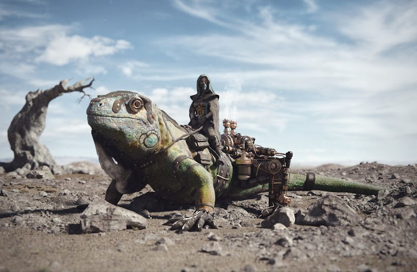 The future of personal transport is reptilian.