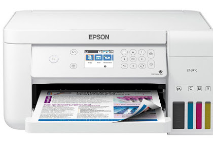 Epson EcoTank ET-3760 Printer Driver Download and Review