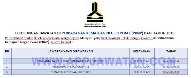 Perbadanan Kemajuan Negeri Perak (PKNP).