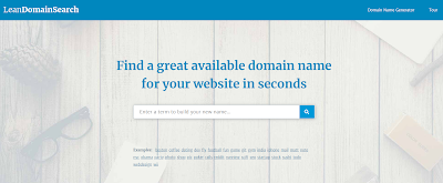 Domain Name Generator Website