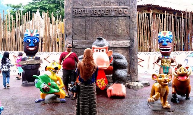 Lebih Dekat dengan Aneka Satwa di Batu Secret Zoo