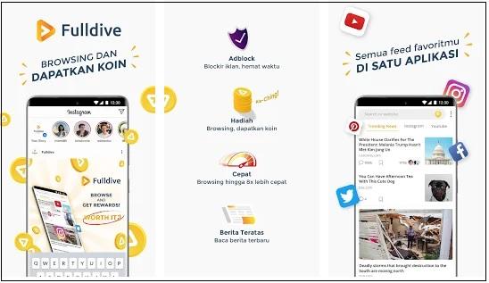 FD Browser Apk Penghasil Uang Saldo Gopay