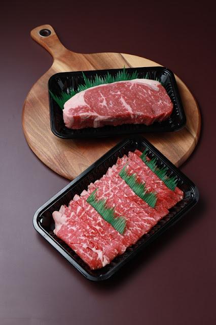 Aust Black Angus Striploin and Aust Beef Shabu-Shab