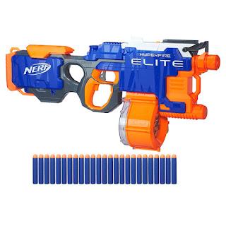 Rhinofire khẩu súng máy Nerf có tốc độ nhả đạn nhanh nhất