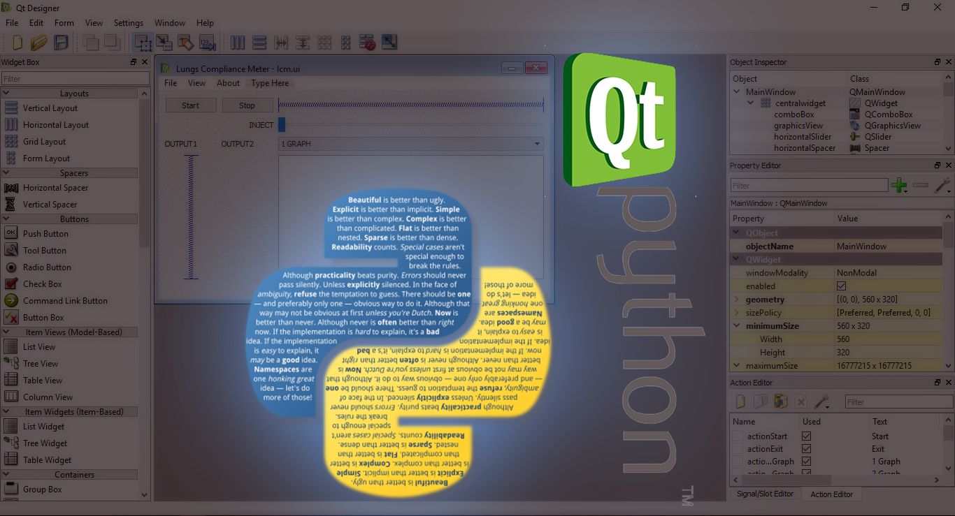 Best python package to develop GUI softwares/programs - VSL Creations