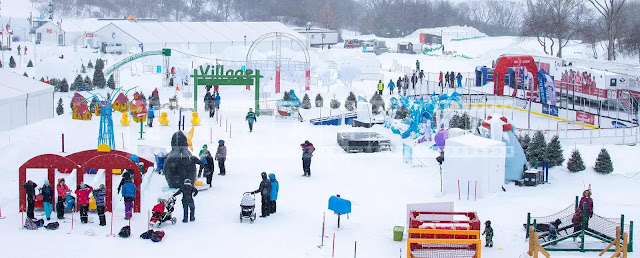 The Quebec Winter Carnival usually