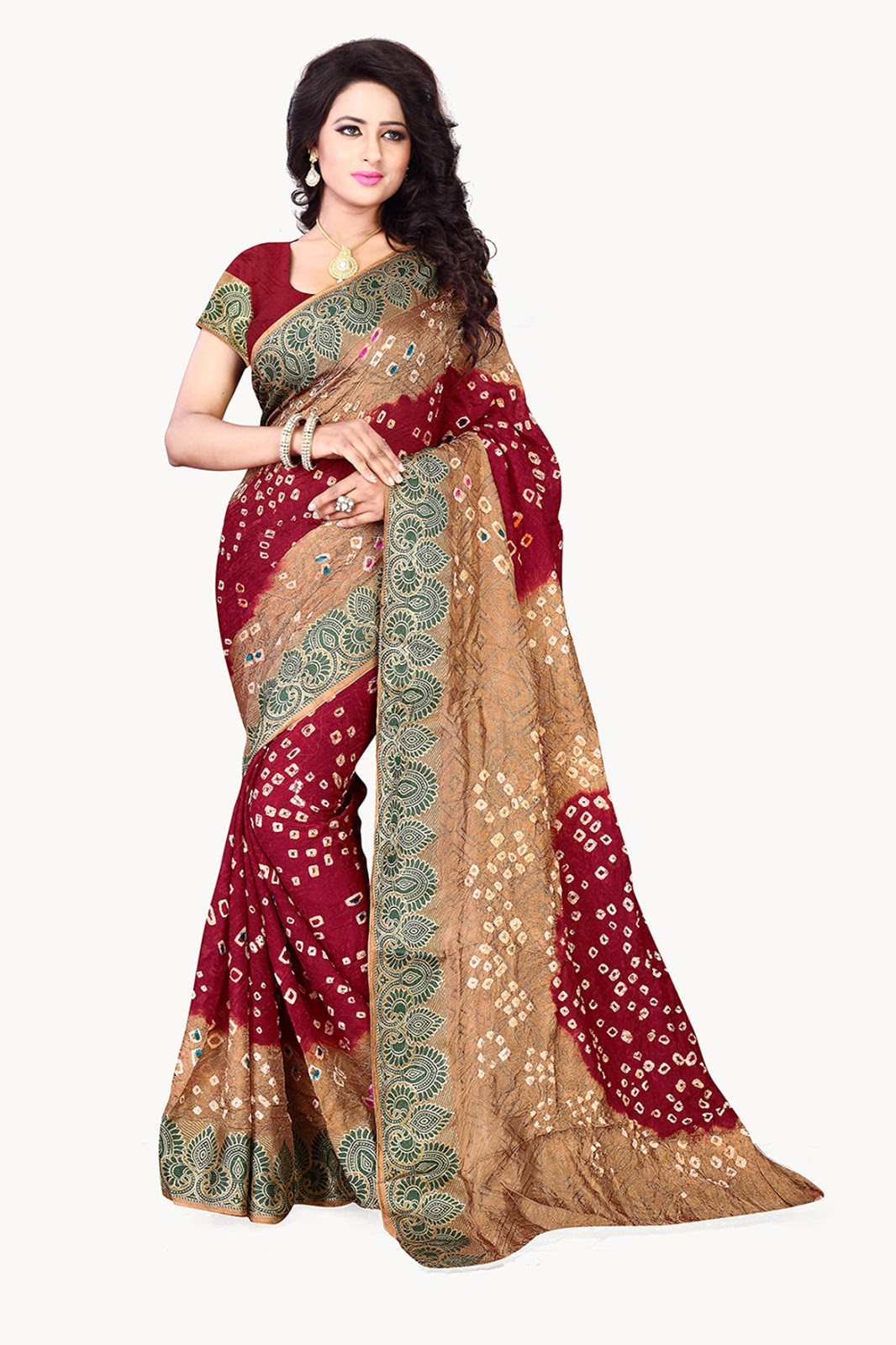 Catalog No. 330 – Cotton Silk Designer And Stylish Saree