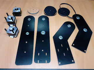 Parts before assembly