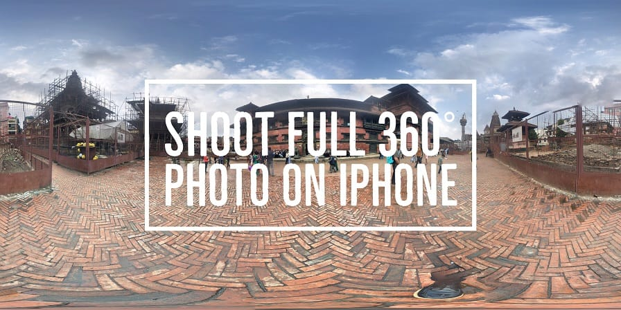 In this article you will learn how to shoot full 360 Degree Photo Sphere on iPhone and post it on Facebook. You don't need any 360 degree Camera