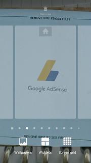Cara menambahkan widget pada android