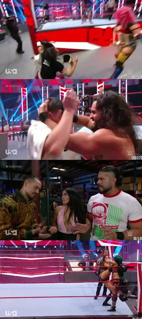 Download WWE Monday Night Raw 300MB HDRip 6th July 2020 || MoviesBaba 1