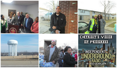 Flint Water Crisis: Independent Underground News & Talk - Michigan's #1 African-American Owned and Operated Independent Affiliated News, Commentary and Podcast  Resource Filmed a Mini-Documentary in Flint February 2016