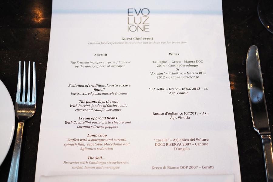 Evoluzione Basilicata Evening with Chef Mario Demuro   Posh
