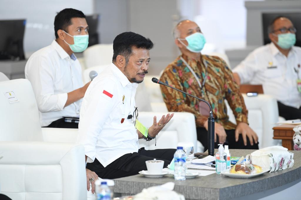 Dukung Ketahanan Pangan, Mentan Syahrul Yasin Limpo Sambut Baik One CGIAR