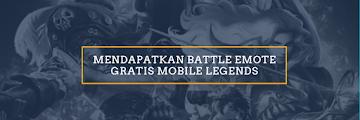 TANPA SCRIPT! 4 Cara Mendapatkan Battle Emote Mobile Legends ada yang Gratis dan Permanent LOH!