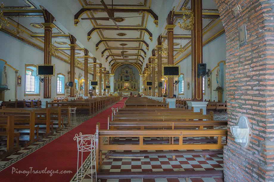 Interiors of Namacpacan Church