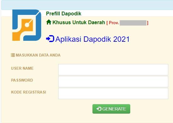 35 Daftar Link Download Prefill Dapodik Versi 2021
