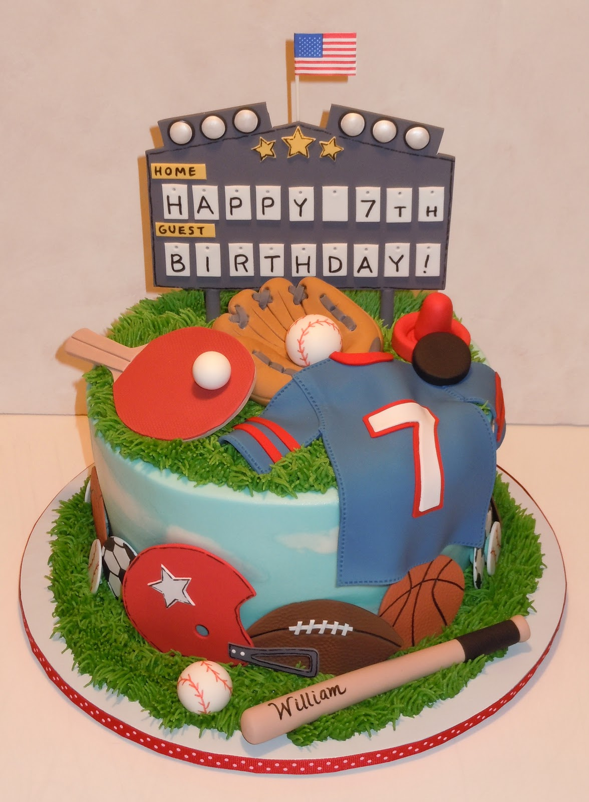Ping Pong Table Cake Ideas And Designs