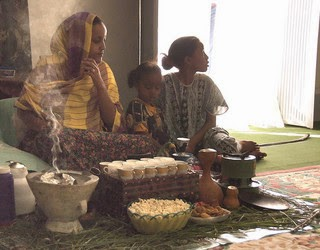 Buna coffee ceremony