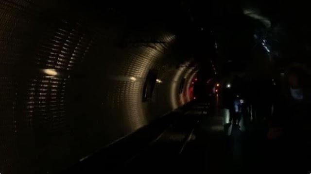 Metro A: Termini resta al buio