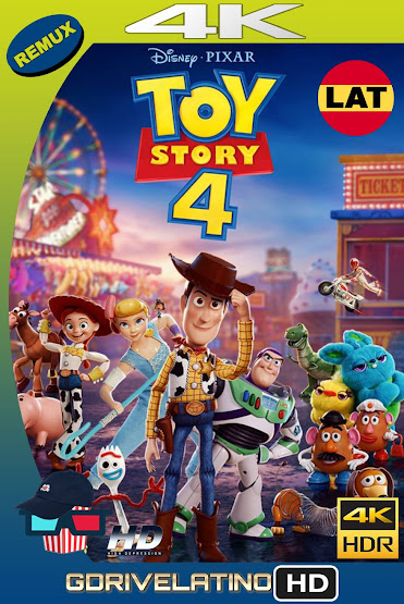 Toy Story 4 (2019) BDRemux 4K HDR Latino-Ingles MKV