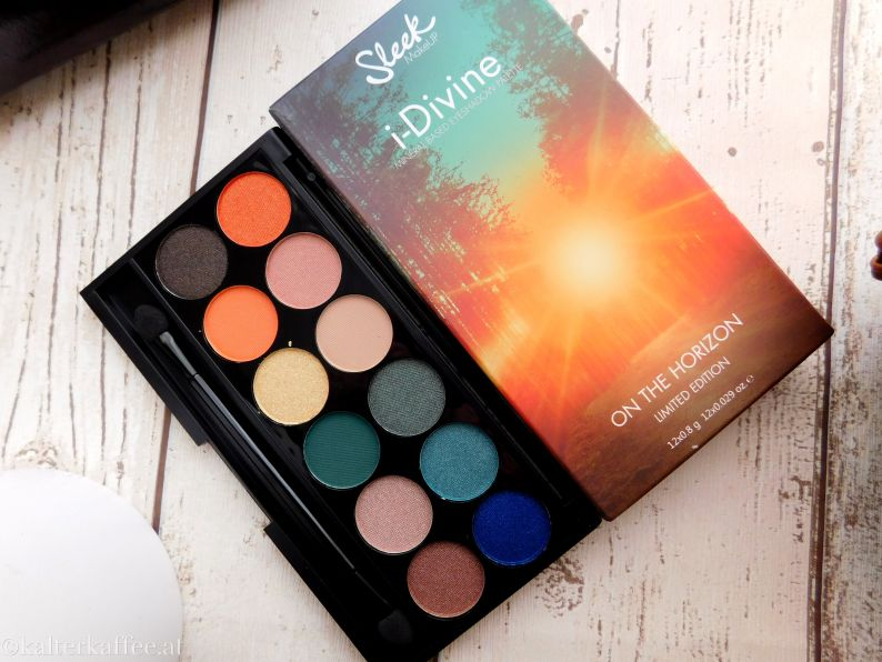 Sleek Make Up i-divine Palette On the Horizon