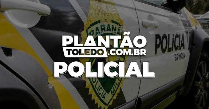 Jovem é preso com uma Pistola 9mm dentro do veículo em Toledo