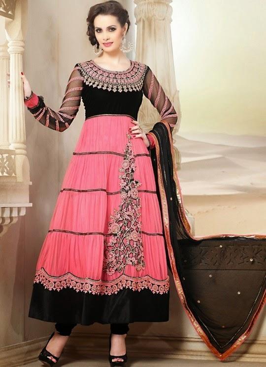 Women Latest Designer Clothes  Designer Partywear Women Anarkali Suits d5ffeb9c99