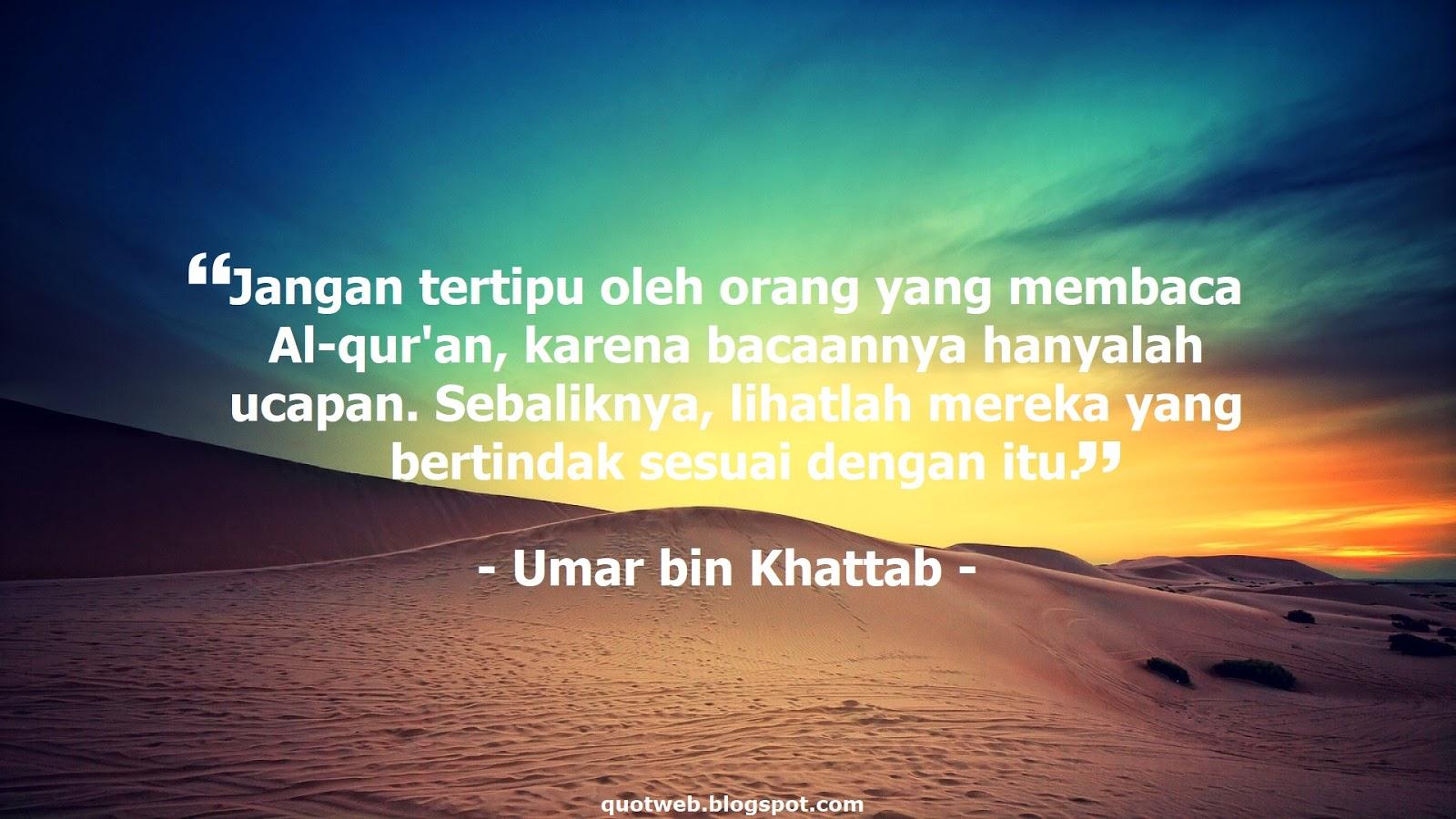 Kata Kata Bijak Umar Bin Khattab Tentang Cinta Cikimmcom