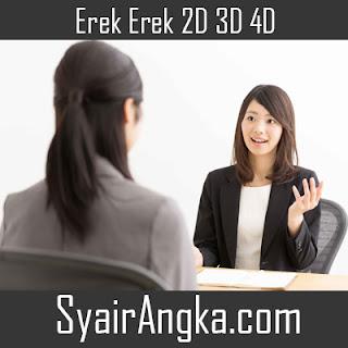 Erek Erek Mimpi Melamar Jadi Karyawan di Primbon 2D 3D 4D