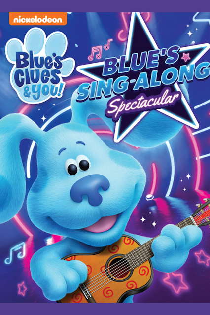Blues Clues And You Singalong DVD Giveaway