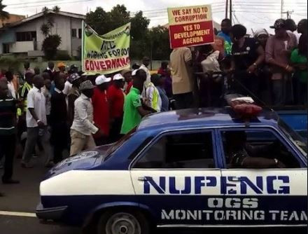 NUPENG issues 7-day strike notice to FG