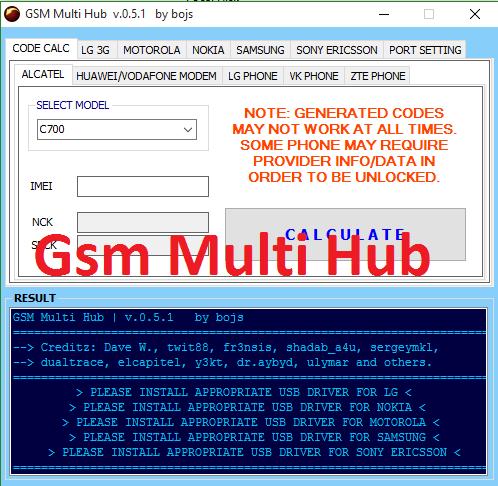 Gsm Multi hub 2018