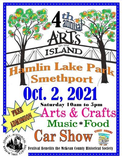 10-2 4th Annual Arts On The Island At The Hamlin Lake Park