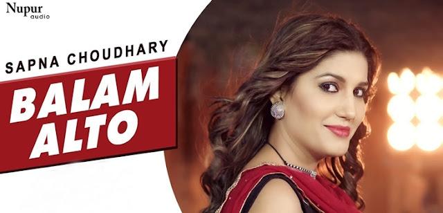 Balam Alto Lyrics - Sapna Choudhary | Vandana Jangir